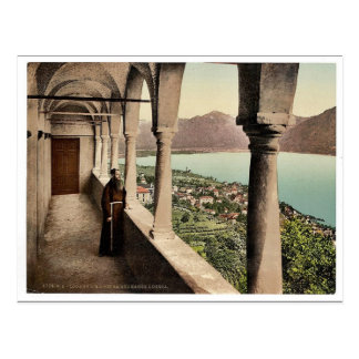 Locarno, Madonna del Sasso, logia, Tessin, Switze Tarjeta Postal