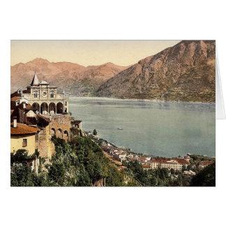 Locarno, Madonna del Sasso, Tessin, Suiza VI Tarjeta