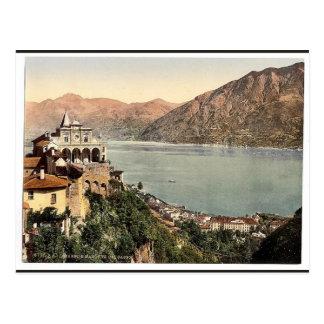 Locarno, Madonna del Sasso, Tessin, Suiza VI Postales