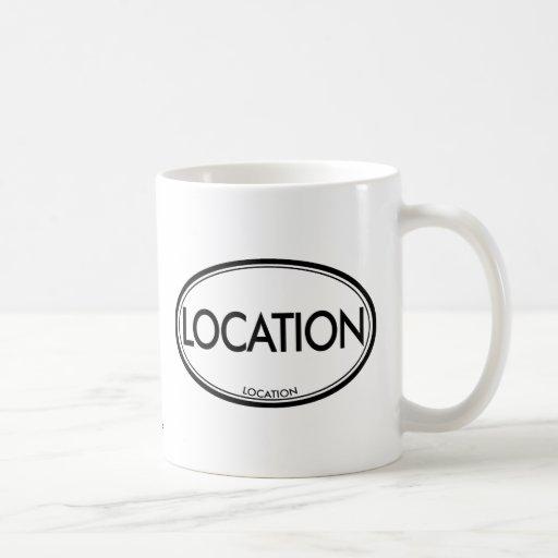 Location Location Classic White Coffee Mug