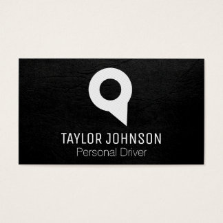 Locator Pin | Black // Yellow Business Card