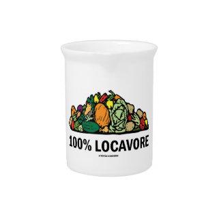 Locavore 100 pila de verduras jarras