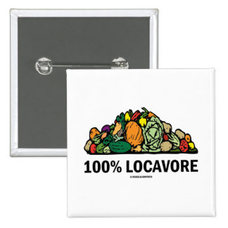Locavore 100% (pila de verduras) pin