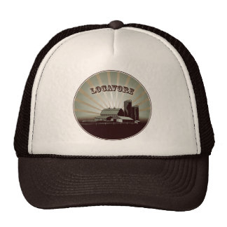 Locavore Brown Hat