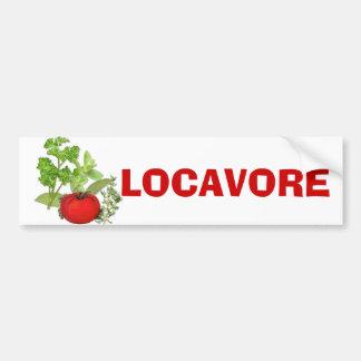 Locavore Bumper Sticker