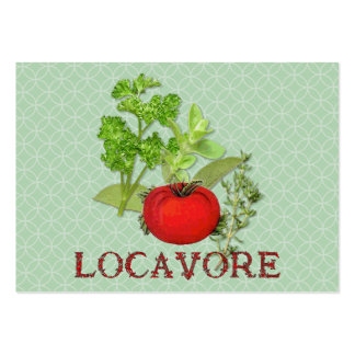 Locavore Large Business Cards (Pack Of 100)