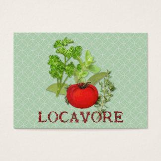 Locavore Business Card
