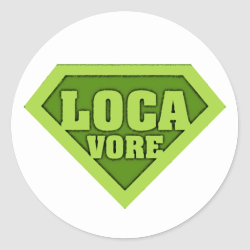 Locavore Classic Round Sticker