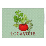 Locavore Greeting Card