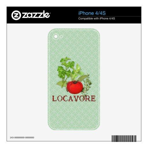 Locavore iPhone 4 Skins