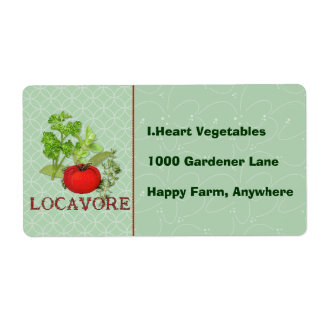 Locavore Label