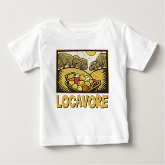 Locavore Slow Food Baby T-Shirt