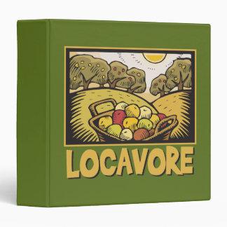 Locavore Slow Food Vinyl Binders