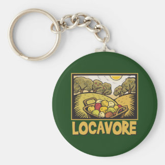Locavore Slow Food Key Chains