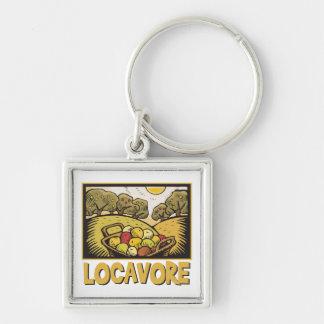 Locavore Slow Food Keychains