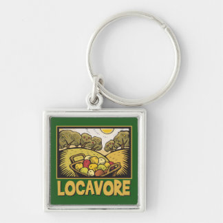 Locavore Slow Food Keychain