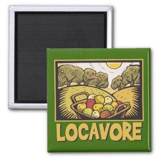 Locavore Slow Food Magnet