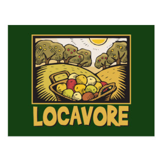 Locavore Slow Food Postcards