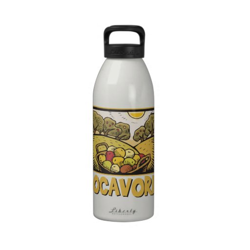 Locavore Slow Food Drinking Bottles