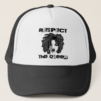 Locc'd Respect the Queen Trucker Hat