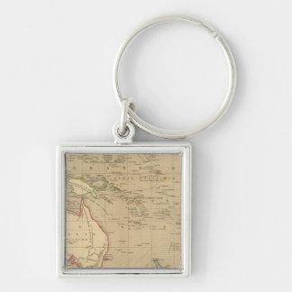 L'Oceanie en 1841 Keychain