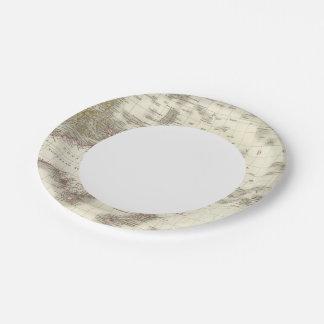 L'Oceanie - Oceania Paper Plate