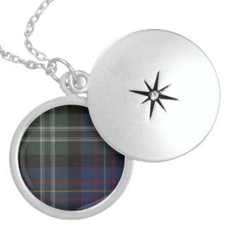 Loch Achanalt Plaid Sterling Silver Necklace
