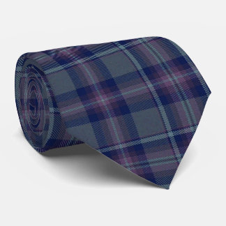 Loch Achnamoine Plaid Neck Tie