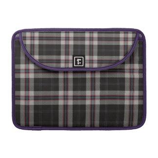 Loch Airigh na Beinne Plaid Sleeve For MacBook Pro