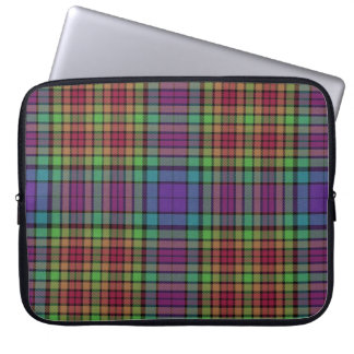 Loch Allt na h-Airbe Plaid Tartan Laptop Sleeve