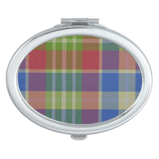 Loch Ard a Phuill Tartan Plaid Mirror For Makeup