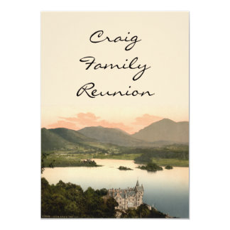 Loch Awe and Ben Lui, Argyll and Bute, Scotland Card