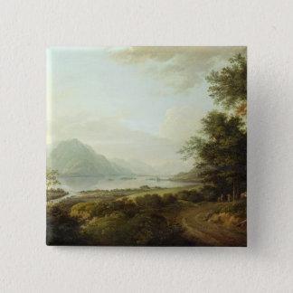 Loch Awe, Argyllshire, c.1780-1800 (oil on canvas) Button