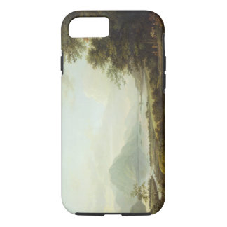 Loch Awe, Argyllshire, c.1780-1800 (oil on canvas) iPhone 7 Case