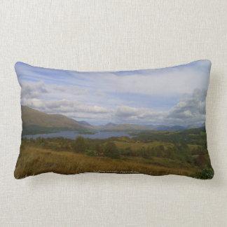 Loch Awe   throw cushion Pillows