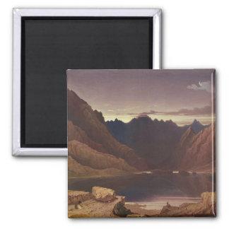 Loch Coruisk, Isle of Skye - Dawn, c.1826-32 (w/c Magnet