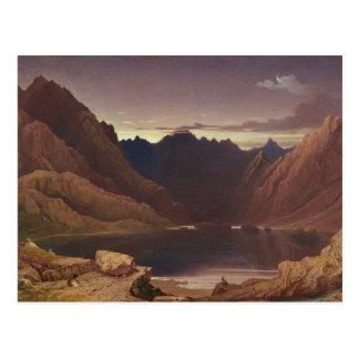 Loch Coruisk, Isle of Skye - Dawn, c.1826-32 (w/c Postcard