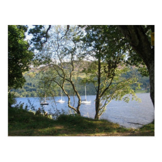 loch earn postcard