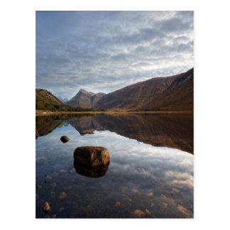 Loch Etive. Glencoe in the scottish Highlands Postcard
