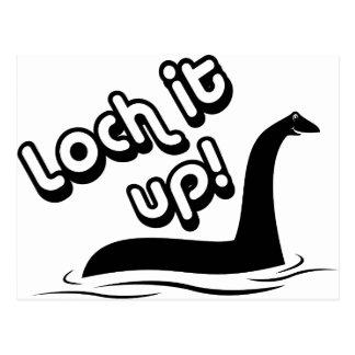 Loch It Up Postcard