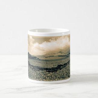 Loch Kishorn Beach (Sepia) Mug
