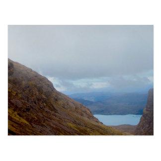 Loch Kishorn from Applecross Road Postcard
