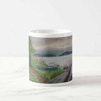 Loch Lein Classic White Coffee Mug