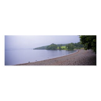 Loch Lomond Bookmark Double-Sided Mini Business Cards (Pack Of 20)