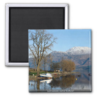 Loch Lomond, central Scotland 2 Inch Square Magnet