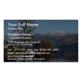 Loch Lomond, central Scotland Double-Sided Standard Business Cards (Pack Of 100)