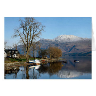 Loch Lomond, central Scotland Card