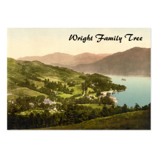 Loch Lomond, Dumbarton, Scotland Large Business Cards (Pack Of 100)