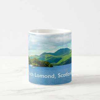 Loch Lomond in Scotland, personalised mug