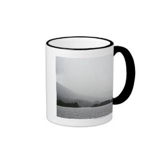 Loch Lomond scene. Ringer Coffee Mug